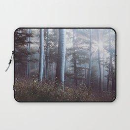 Forest Trees Sunrise Laptop Sleeve