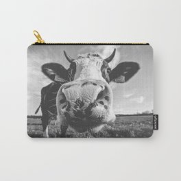 Inquisitive Cow Carry-All Pouch