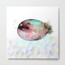 pesciolino Metal Print