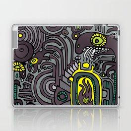 BELLY FIRE Laptop & iPad Skin