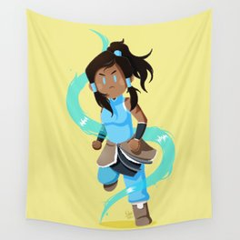 Little Warriors: Korra Wall Tapestry