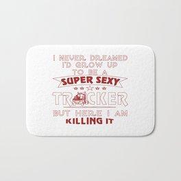 Super Sexy TRUCKER Bath Mat