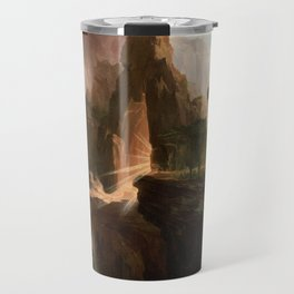 Thomas Cole - Expulsion from the Garden of Eden, 1828 Travel Mug