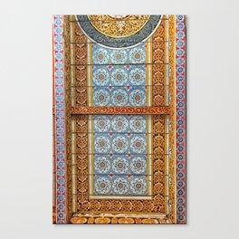 Temple Celling Canvas Print