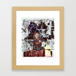 "Basquiat ""End of Dreams"" Framed Art Print"
