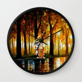 Searching for evidence Wall Clock