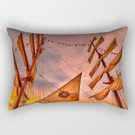 Tall Ship BAE Guayas, Ecuador Rectangular Pillow