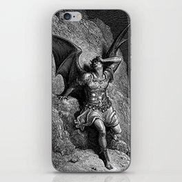 Gustave Dore - Paradise Lost Satan Profile iPhone Skin