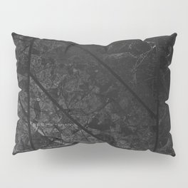 Black Marble Texture G310 Pillow Sham