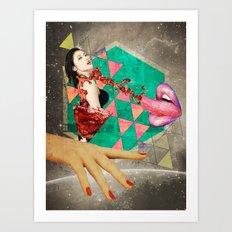 Sensasian III: Shaken, not stirred Art Print