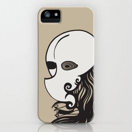 Face of a Stranger iPhone Case