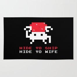 Space Intruders Rug