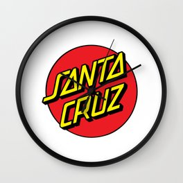 Santa Cruz Wall Clock
