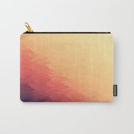 Orange Peach Ombre Carry-All Pouch