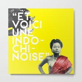 Indochi(noise) Metal Print