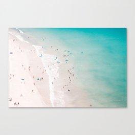 beach - summer love II Canvas Print