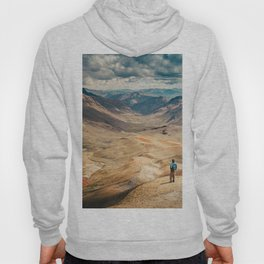 Man front of the mountain Hoody
