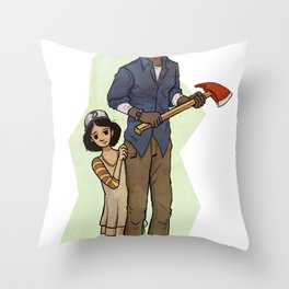 The Walking Dead Throw Pillow