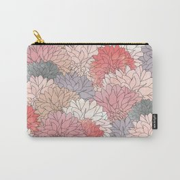 Hydrangea Haven - Muted Colors Carry-All Pouch