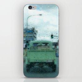 Rainy Days and Vintage Vehicles iPhone Skin
