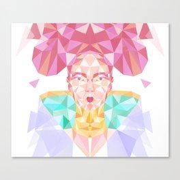 Pastel Sugarcube Canvas Print