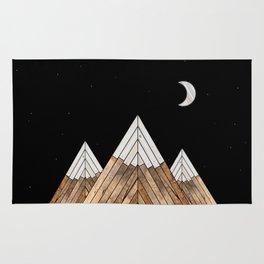 Digital Grain Mountains Rug