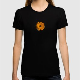 Orange power flower T-shirt