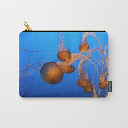 Floating In Blue Water Carry-All Pouch