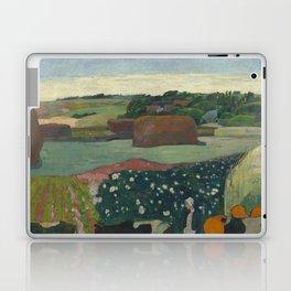 Paul Gauguin - Haystacks in Brittany Laptop & iPad Skin