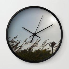Swaying Plants Wall Clock