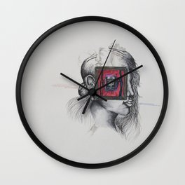 Carbon Body, Silicon Mind Wall Clock
