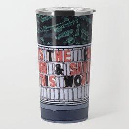 Jesus The Christ Travel Mug
