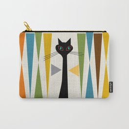 Mid-Century Modern Art Cat 2 Carry-All Pouch