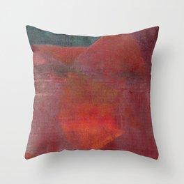 Ricordi dell'Infanzia: Il Calore Venuta Dalla Cucina Throw Pillow