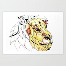 Mighty Jungle  Art Print