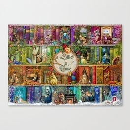 A Stitch In Time Canvas Print