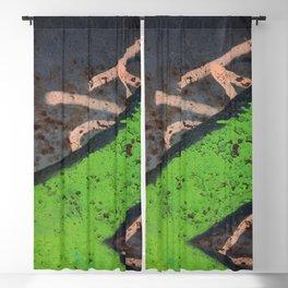 Rustin' piece Blackout Curtain