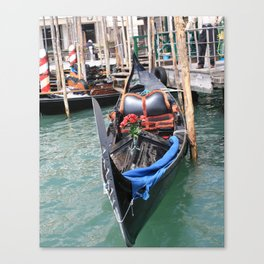 Gondola, Venice, Italy Canvas Print
