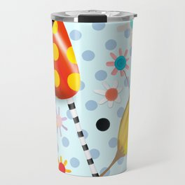 I will not forsake the colours that you bring Travel Mug