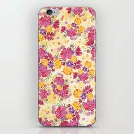 Autumn Floral Bouquet iPhone Skin