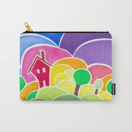 Puffy Landscape Carry-All Pouch