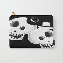 Dapper Skulls Carry-All Pouch