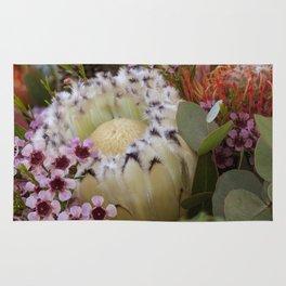 Beautiful Feather Protea Rug