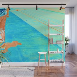 Electric Skater Wall Mural