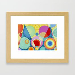 Diatoms #1 Framed Art Print
