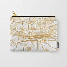 JOHANNESBURG SOUTH AFRICA CITY STREET MAP ART Carry-All Pouch