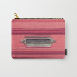 Cartas - Letters (Pink vintage door with old mailbox) Carry-All Pouch