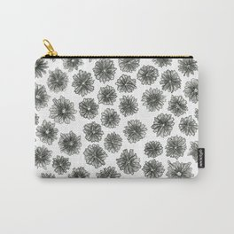 Coneflower Pattern Carry-All Pouch