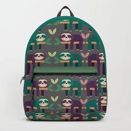 Sloth pattern Rucksack