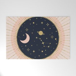 Love in Space Welcome Mat